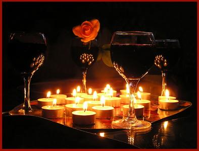 «Вино и свечи» от Массандры