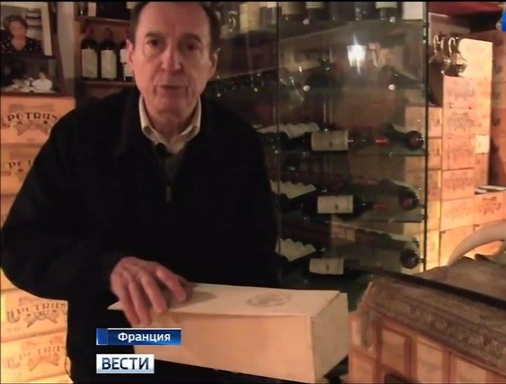 Вино без границ. Французский коллекционер показал подвал, в котором хранит коллекцию «Массандры»