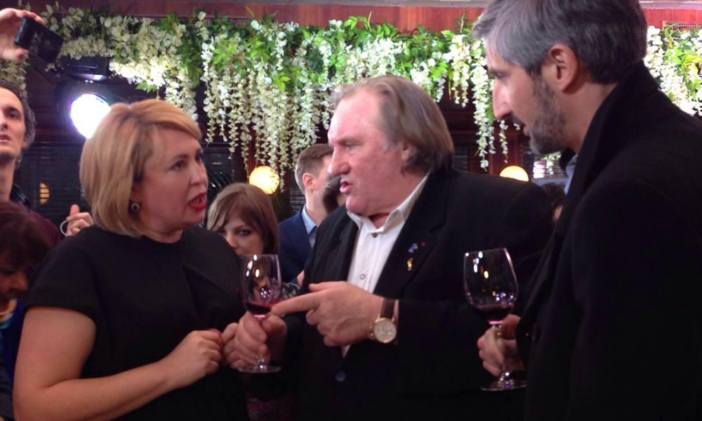 Новые вина «Массандры» покорили Жерара Депардье