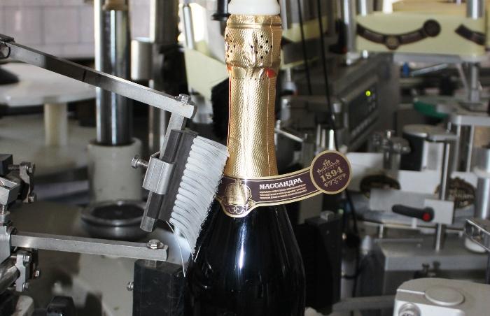 Первое шампанское «Массандры» сошло с конвейера