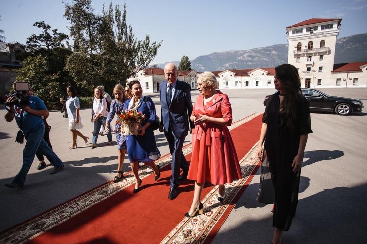 «Массандру» посетил кузен короля Швеции Граф Висборгский Ян Бернадотт
