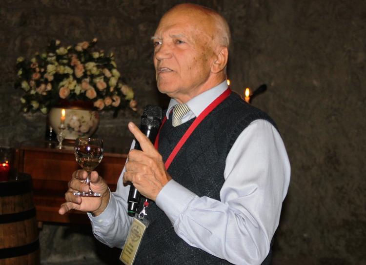 Маршал энотуризма. Знаменитый экскурсовод «Массандры» Александр  Иванович Жуков празднует 80-летие
