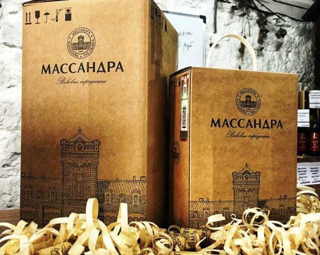 В магазинах «Массандры» стартовала продажа вина в упаковках bag in box