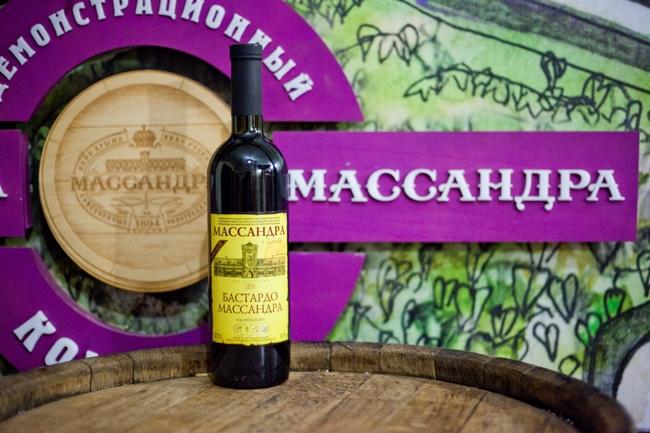 «Бастардо Массандра» признано лучшим ликерным вином России