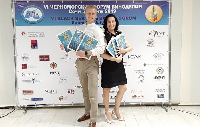 «Массандра» взяла медали за все вина, которые представила на Международном конкурсе в Сочи
