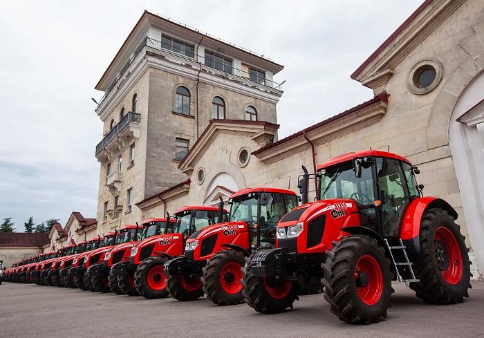 В «Массандре» идет самая крупная за 125 лет закупка сельхозтехники