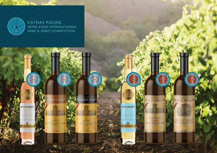 Россия взяла 13 медалей самого престижного конкурса вин Азии. Шесть из них у «Массандры»