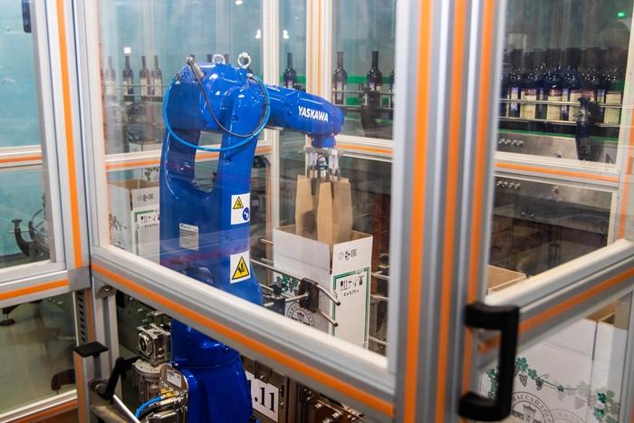«Массандру» впервые в истории оснастили роботами